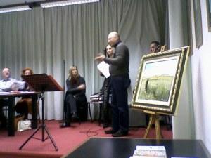 Fabio Franzin vincitore della sezione edita - Concorso Guido Gozzano 2008