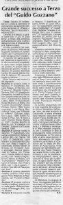 Seconda Edizione 2001 - Articolo Roberto Chiodo L'Ancora