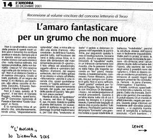 Seconda Edizione - 2001 - Articolo di Francesco Perono Cacciafoco