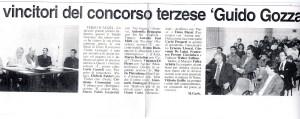 """2000 - Prima Edizione - Concorso Guido Gozzano - Foto pubblico e Giuria - Articolo Massimo Garbarino su """"Il Piccolo"""""""