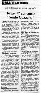 Quarto Concorso Guido Gozzano - 2003