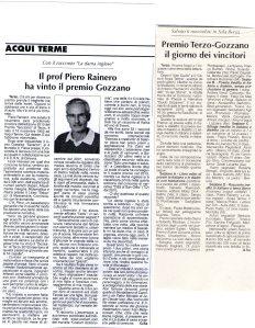 XI° Concorso Guido Gozzano - 2010