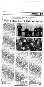Incontro Giampiero Nani - Arturo Vercellino - 2012 - Presentazione bando 2012