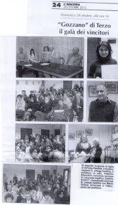 Fotografie Cerimonia di Premiazione XIII° CONCORSO GUIDO GOZZANO - 2012