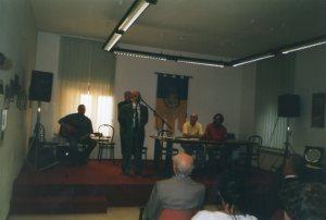 Angelo Arata - Sindaco di Terzo intervento alla Cerimonia di Premiazione del 3° Concorso Guido Gozzano - edizione 2002