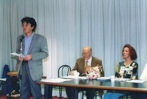 Intervento Pier Domenico Baccalario - giurato V° Concorso Guido Gozzano