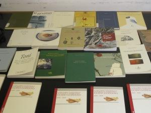 Libri vincitori di diverse edizioni del Concorso Gozzano - 2011