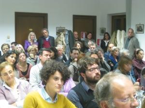 Il pubblico presente in Sala Benzi - Concorso Gozzano 2012
