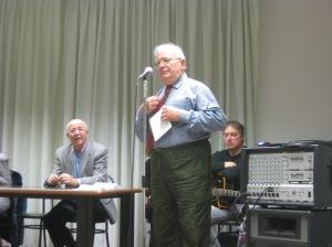 Renato Perinetto maestro e attore recita le poesie di Guido Gozzano