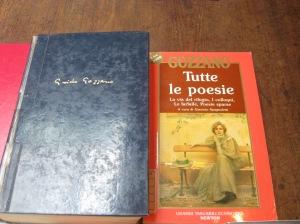 Libri di Guido Gozzano presenti in Biblioteca ad Acqui.