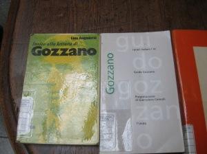 Libri di e su Guido Gozzano presenti in Biblioteca ad Acqui