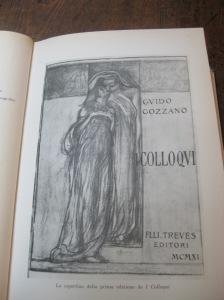 La copertina della prima edizione de I Colloqui - Trovate il libro in Biblioteca ad Acqui