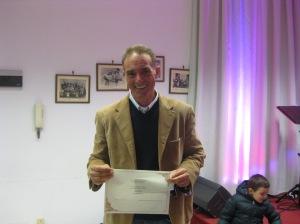 Ivan Fedeli vincitore nella sezione B - poesia inedita