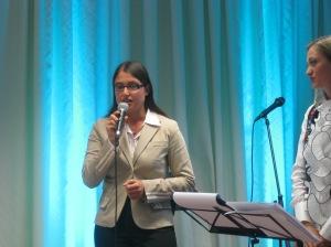 L'intervento di Serena Panaro del premio di poesia Città di Acqui Terme